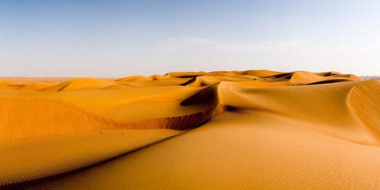 Oman - Sonnenuntergang in der Wüste Ash Sharqiyah North