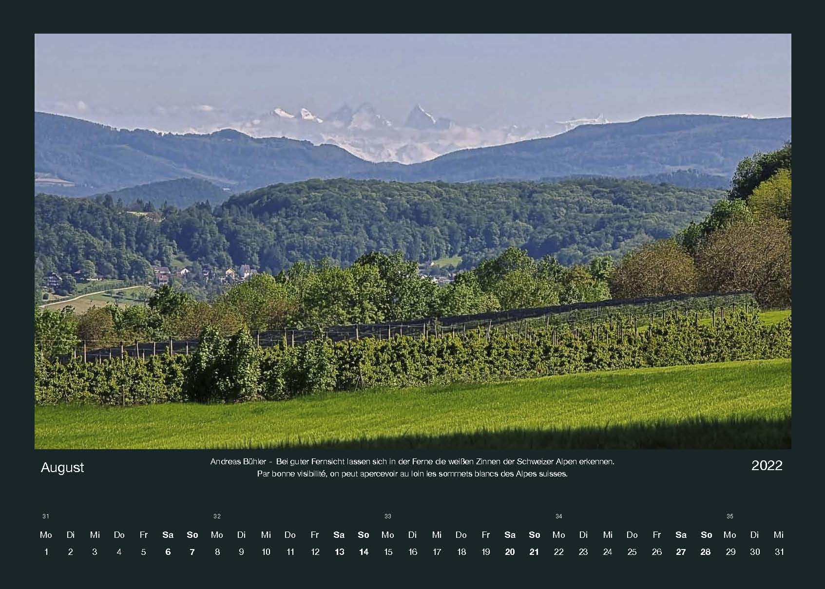 You are currently viewing Der Tüllinger – Kalender 2022